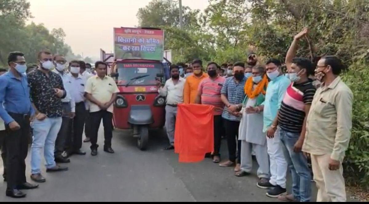कृषि बिल से विपक्षी दलों की राजनीतिक दुकानें बंद होने के कगार पर इसलिए हो रहा है विरोध : कुणाल षाड़ंगी