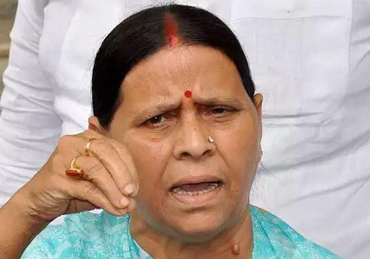 Bihar News : 'बिहार में महाजंगलराज, अपने रिस्क पर बाहर निकले जनता'- पूर्व सीएम राबड़ी देवी ने साधा नीतीश सरकार पर निशाना