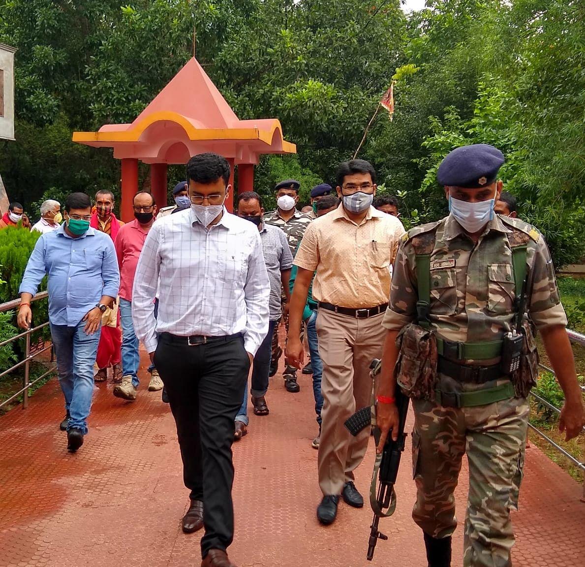Unlock 5.0 In Jharkhand : कोरोना के साये में शर्तों के साथ खुल रहे धार्मिक स्थल, भद्रकाली मंदिर में भी श्रद्धालुओं को इन नियमों का करना होगा पालन
