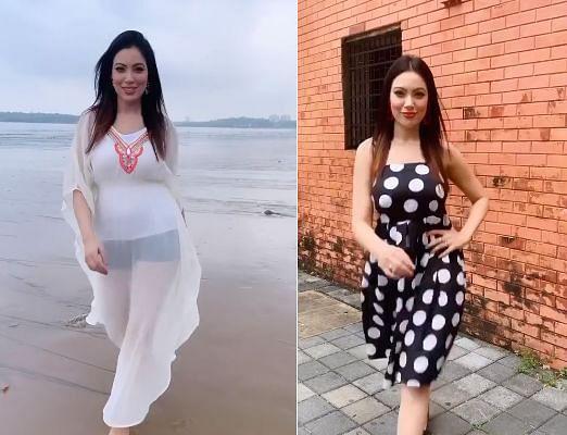 Taarak Mehta Ka Ooltah Chashmah : ट्रांसपेरेंट ड्रेस में 'बबीता जी' दिखी बेहद हॉट, फैंस बोले- तारक शो में आपको...