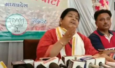 Madhya Pradesh by Election 2020 : 'मदरसों से निकलते हैं आतंकवादी', शिवराज की मंत्री ने दिया विवादित बयान…