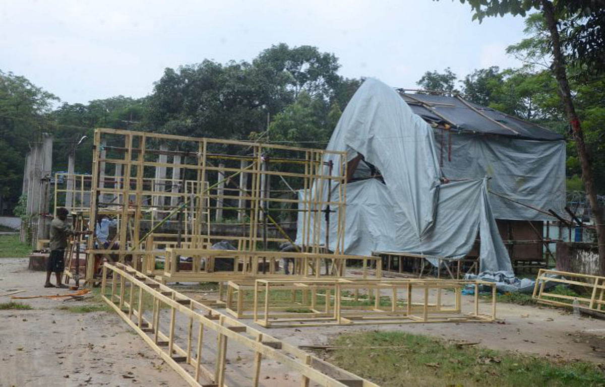 Durga Puja 2020 : पूजा समिति नहीं बांटेंगी मास्क, रांची जिला प्रशासन का निर्देश