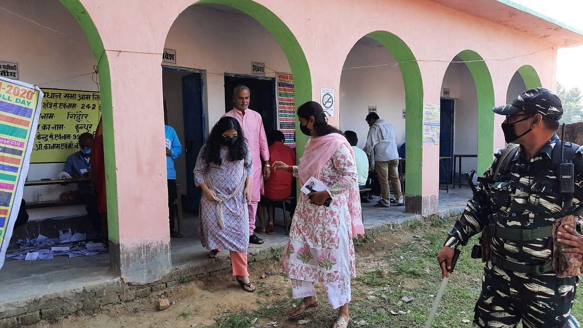 Bihar Election First Phase Voting LIVE Updates: पहले चरण के शुरुआती दो घंटे में सिर्फ 6.74 फीसदी वोटिंग, BJP प्रत्याशी श्रेयसी सिंह ने किया मतदान