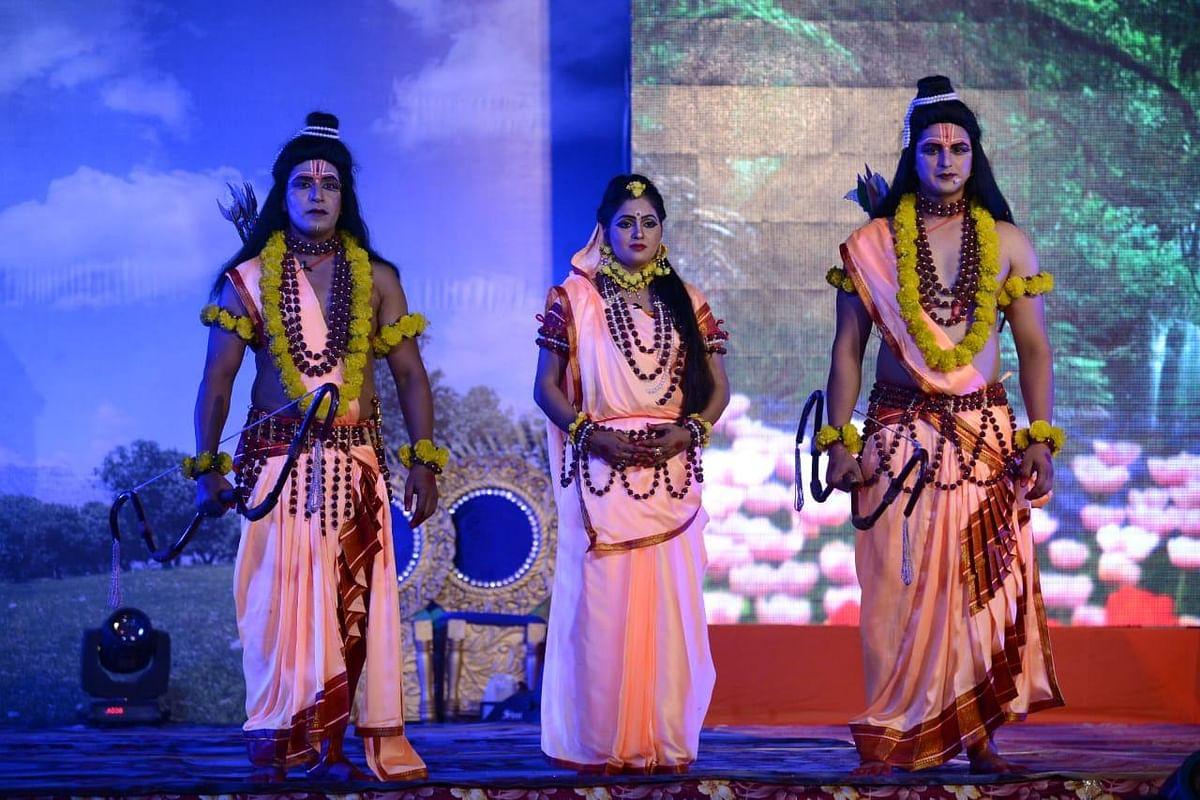 Ramlila in Ayodhya PICS  : कोरोना के साये में हुआ आयोजन, लेकिन कायम रहा आकर्षण
