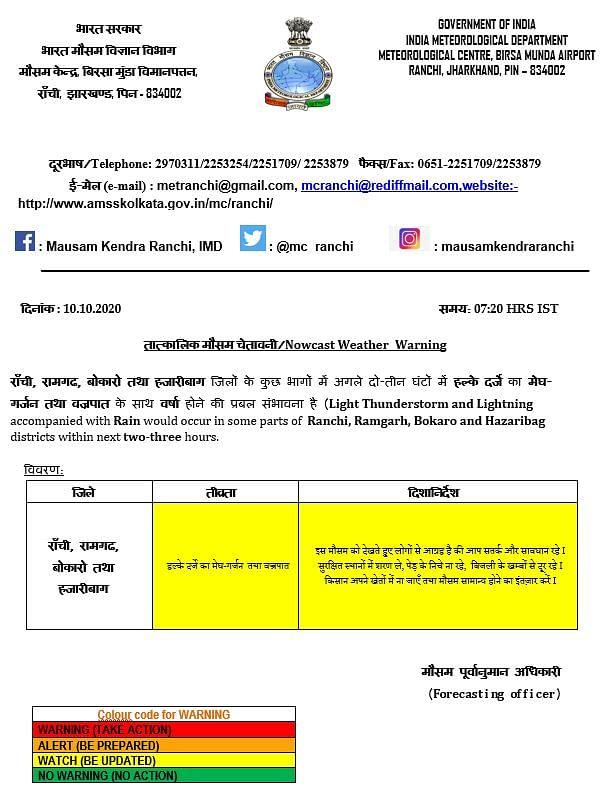 Weather Forecast Updates : रविवार और सोमवार को ओडिशा समेत इन राज्यों में Heavy Rain