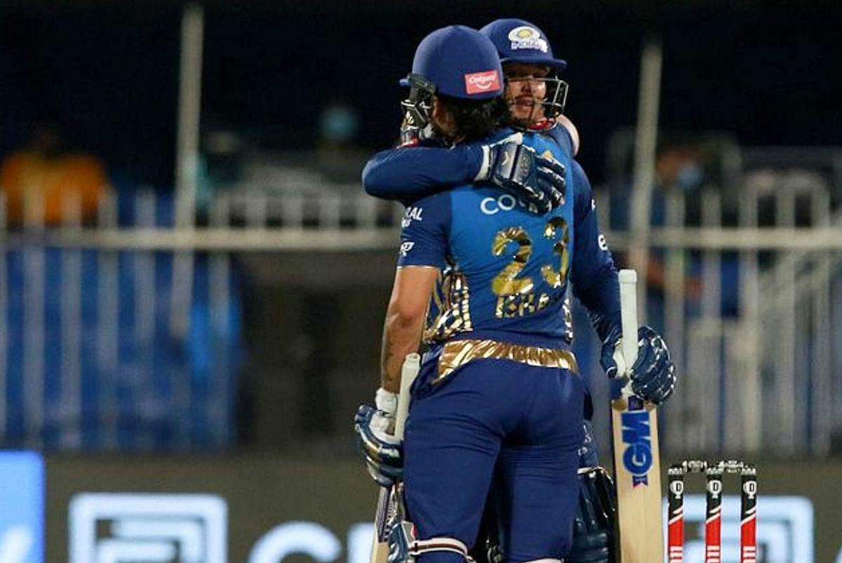 IPL 2020, MI vs RR Live Score : मुंबई को पहले ही ओवर में लगा झटका, डीकॉक 6 रन पर आउट, MI 67/1