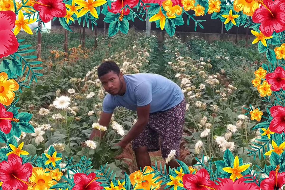 फूलों की खेती कर पीएम मोदी के 'आत्मनिर्भर भारत' अभियान का सिपाही बन रहे झारखंड के युवा