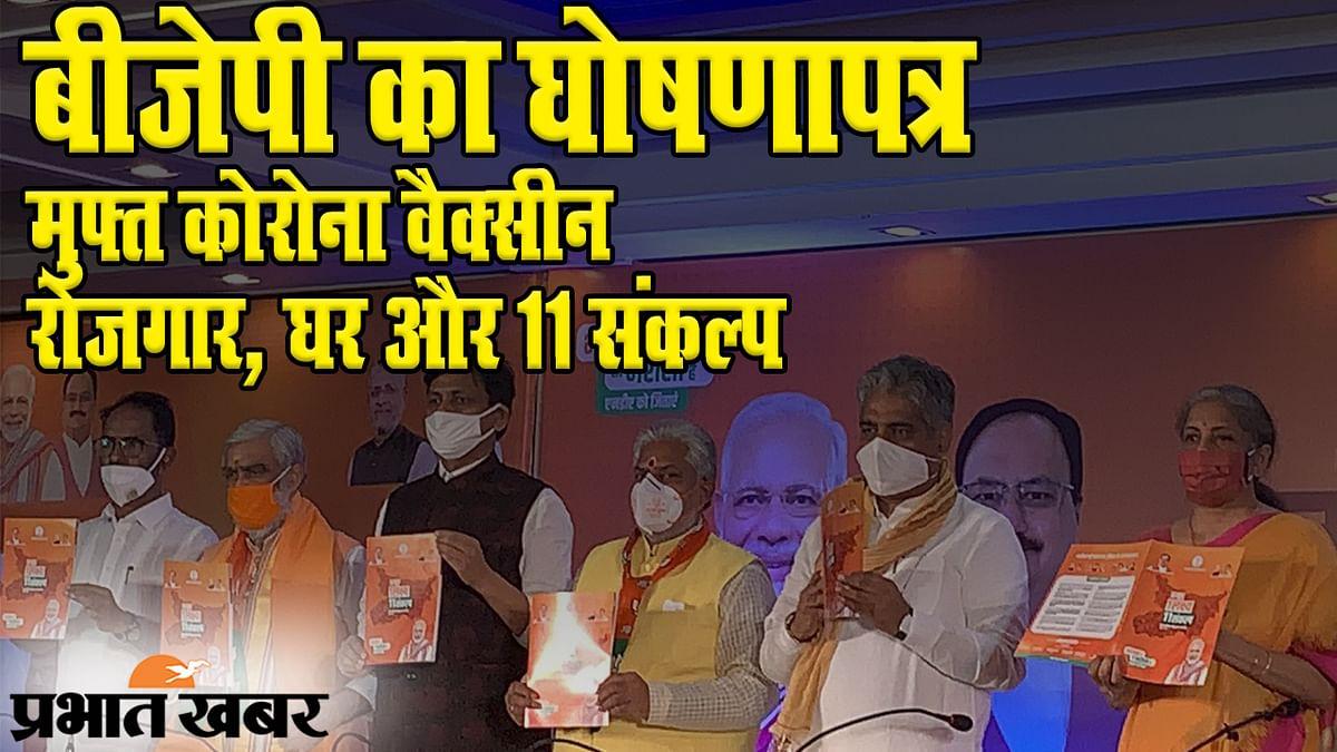 Bihar Election 2020: पीएम मोदी के 'मिशन बिहार' से पहले BJP तैयार, मुफ्त कोरोना वैक्सीन, रोजगार, घर के साथ लिए 11 संकल्प