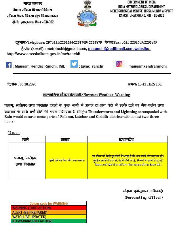 Weather Forecast : ओडिशा के तटीय क्षेत्र में साइक्लोनिक सर्कुलेशन, झारखंड और कर्नाटक में होगी बारिश, जानें बिहार-यूपी-दिल्ली सहित अन्य राज्यों के मौसम का हाल