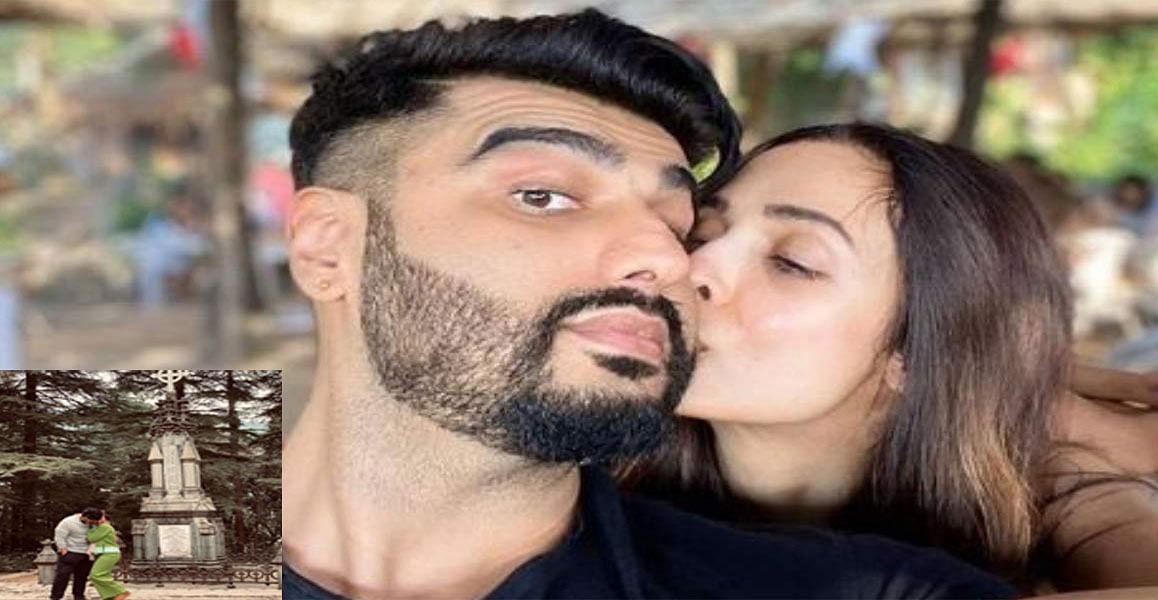 मलाइका अरोड़ा ने अर्जुन कपूर के साथ शेयर की अपनी तस्वीर, लिखा जब तुम साथ होते . . .