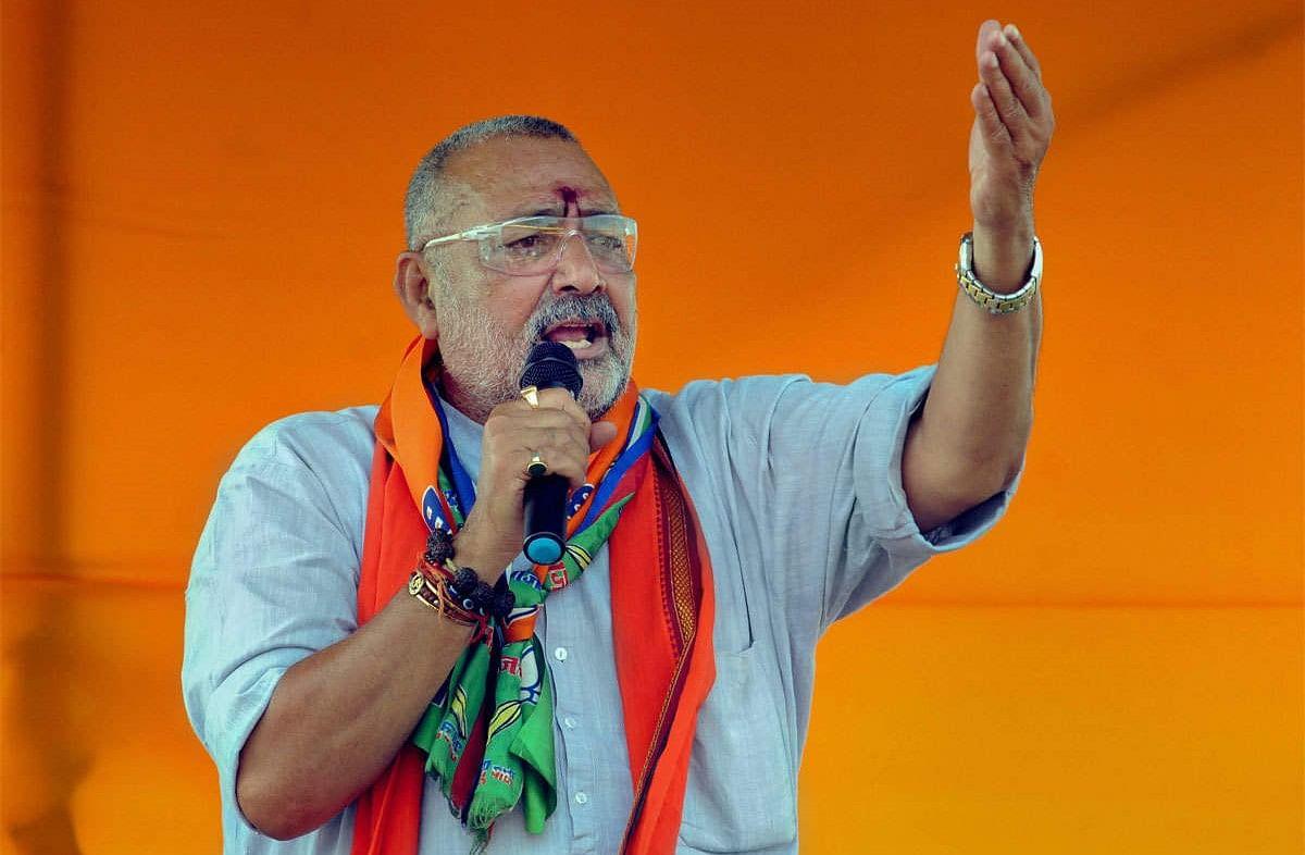 Bihar News: गिरिराज सिंह का बड़ा बयान, कहा- लालू यादव और तेजस्वी को नेता बनाकर भूल कर गये नीतीश कुमार