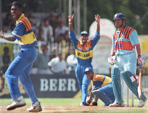 1997 में टीम इंडिया की जर्सी