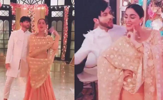 कुंडली भाग्य की सुपरहिट जोड़ी करण-प्रीता ने 'क्या बात है' पर यूं किया डांस, VIDEO में दिखा अलग अंदाज