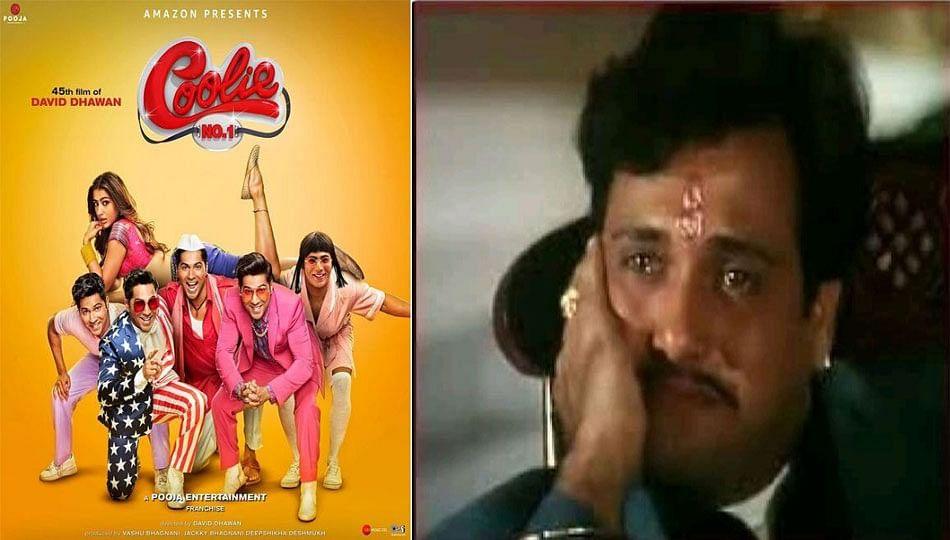 Coolie No 1 के Trailer को देखकर रो पड़े गोविंदा, दर्शकों ने वरुण को सस्ती कॉपी ...