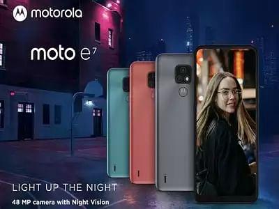 Motorola ने लॉन्च किया सस्ता स्मार्टफोन Moto E7, जानें कीमत और खूबियां