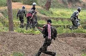 झारखंड में पुलिस और पीएलएफआई के बीच मुठभेड़, पांच राइफल व कारतूस बरामद