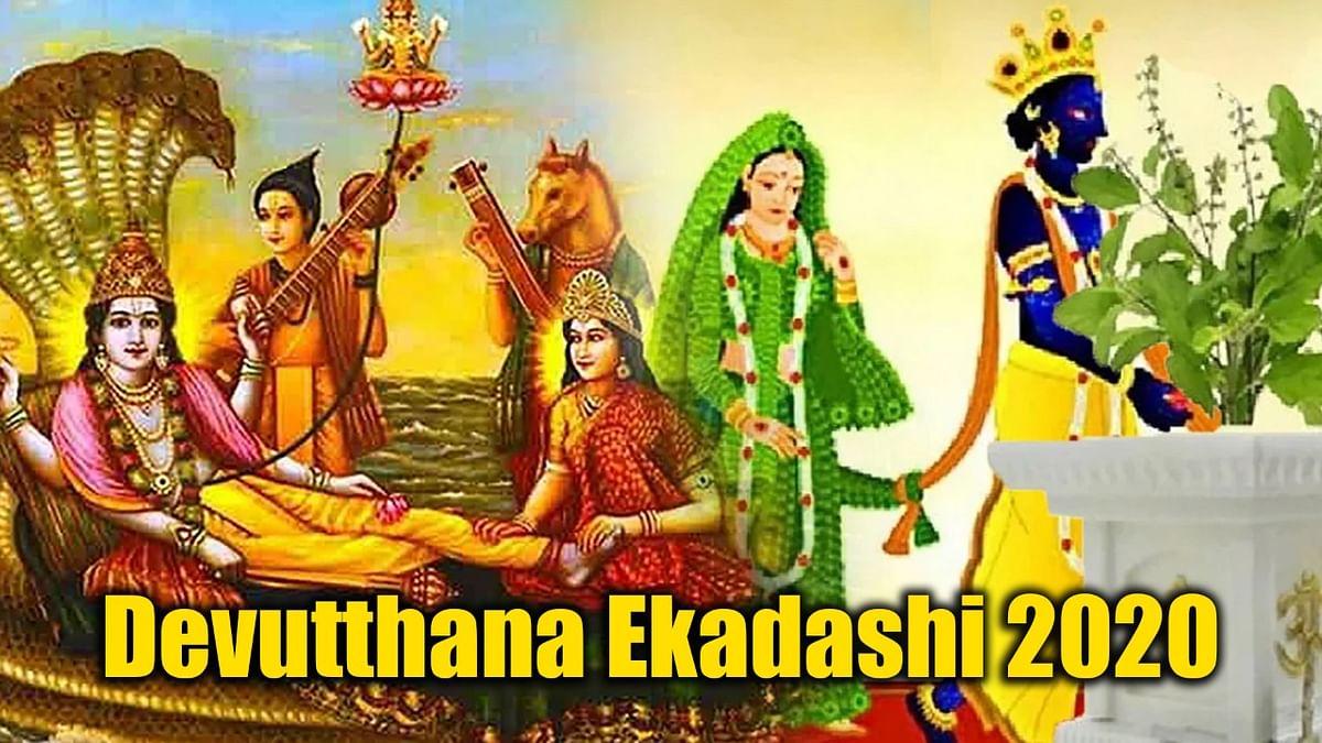 Jai Tulsi Mata ki Aarti: इस आरती के बिना पूजा मानी जाती है अधूरी, यहां पढ़े तुलसी विवाह, भगवान विष्णु और लक्ष्मी माता की आरती Video