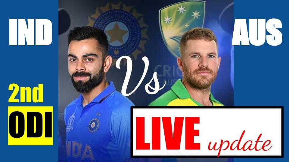 India Vs Australia 2nd ODI Live Cricket Score Online: वॉर्नर और फिंच ने दिलायी ऑस्ट्रेलिया को मजबूत शुरुआत, AUS 59/0 (10)