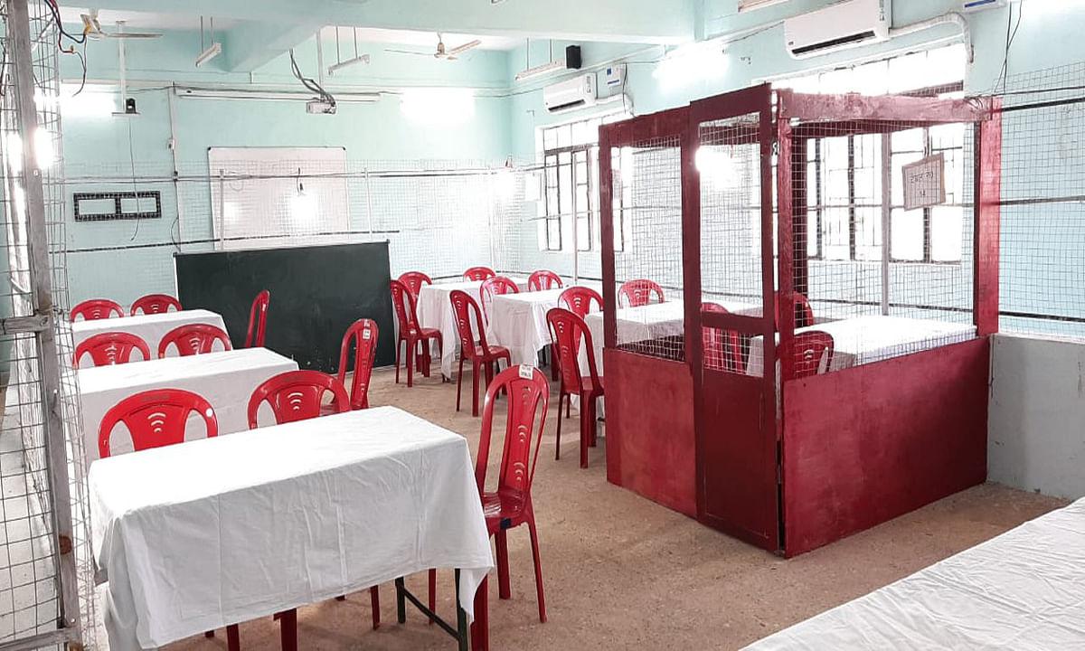 Jharkhand news : दुमका विधानसभा उपचुनाव के लिए 3 काउंटिंग रूम बनाये गये हैं. हर रूम में 7-7 टेबल पर होगी मतों की गिनती.