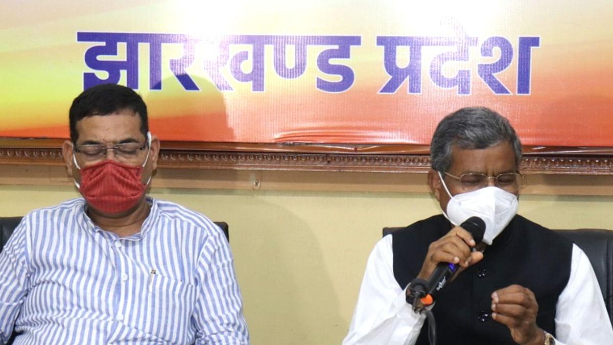 नीतीश कुमार ने बिहार में सातवीं बार मुख्यमंत्री के रूप में ली शपथ, झारखंड भाजपा ने दी बधाई