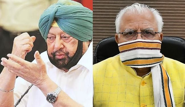 दिल्ली मार्च कर रहे किसानों को रोकने को लेकर पंजाब के CM अमरिंदर ने साधा हरियाणा के CM खट्टर पर निशाना