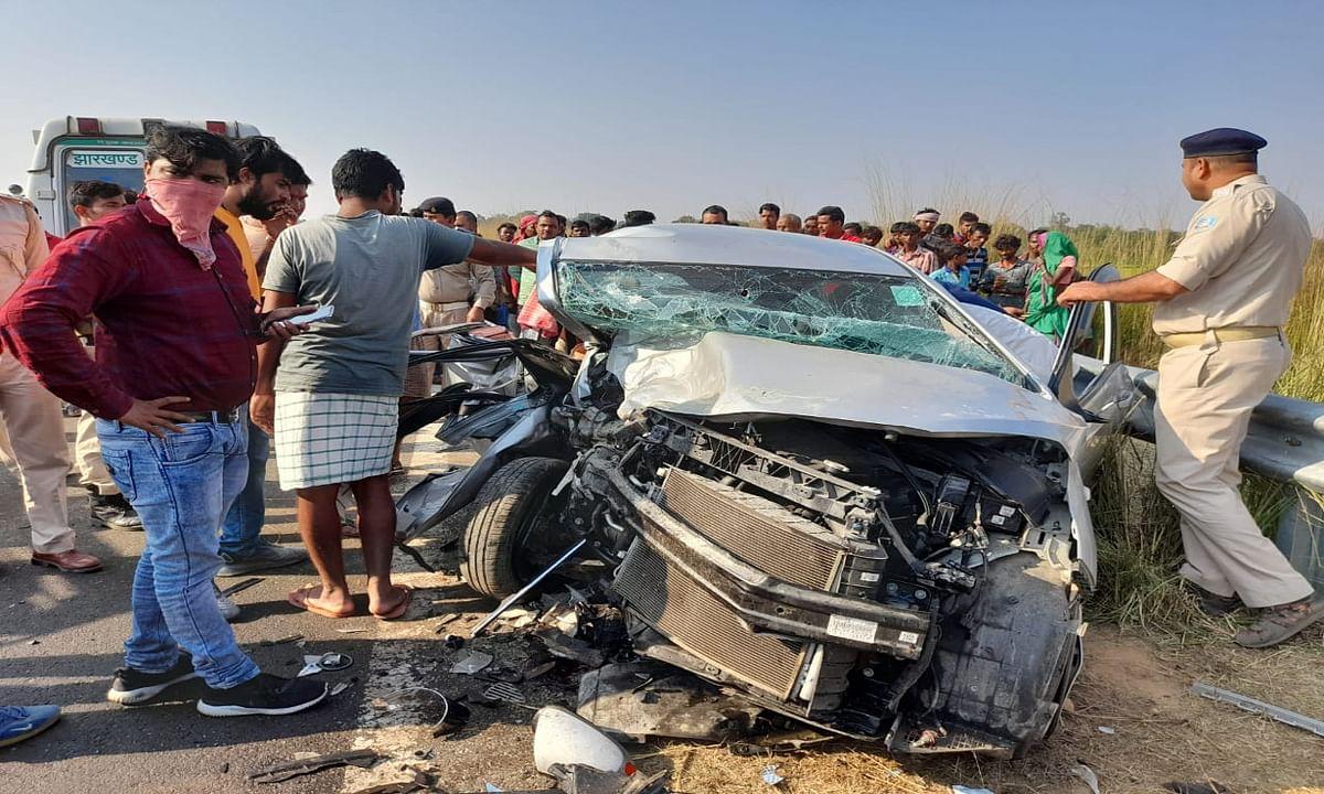 छठ पर्व मनाने कटिहार जा रहे एक ही परिवार के 4 लोगों की सड़क दुर्घटना में मौत, गोविंदपुर- साहिबगंज हाइवे पर हुआ हादसा