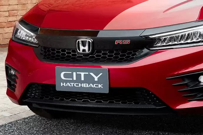 New Honda City Hatchback front grill