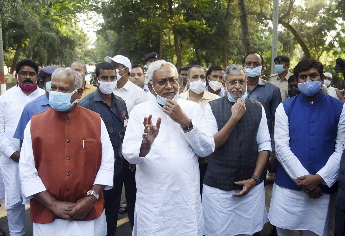 सदन में हंगामे पर सीएम नीतीश कुमार का बयान, कहा- हम बोल कुछ रहे थे और वो समझ कुछ गए