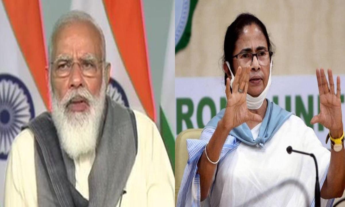 कोरोना प्रभावित राज्यों के मुख्यमंत्रियों के साथ पीएम मोदी की वर्चुअल मीटिंग, ममता बोली- बंगाल में काबू में है संक्रमण