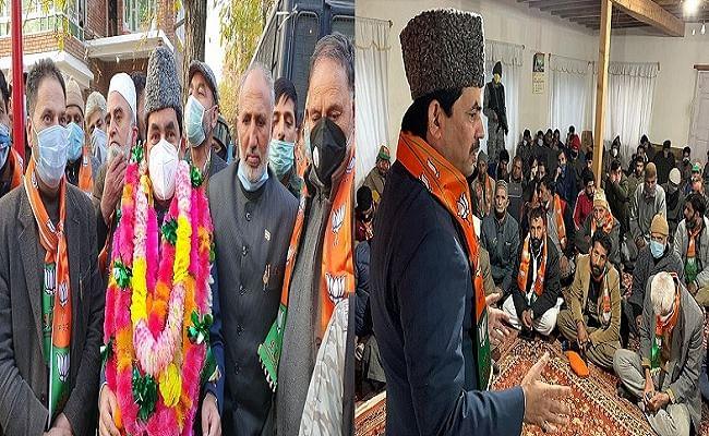 Election In Kashmir: कश्मीर पहुंचे शाहनवाज हुसैन ने 'अनुच्छेद 370' पर कही ये बातें, लगे पीएम मोदी जिंदाबाद के नारे...