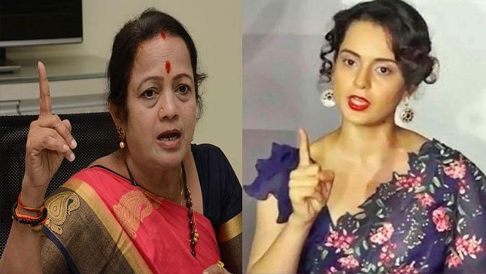 Kangana Ranaut  ने मेयर के 'दो टके के लोग' वाले बयान पर दिया करारा जवाब, कहा  महाराष्ट्र सरकार के हाथों . . .