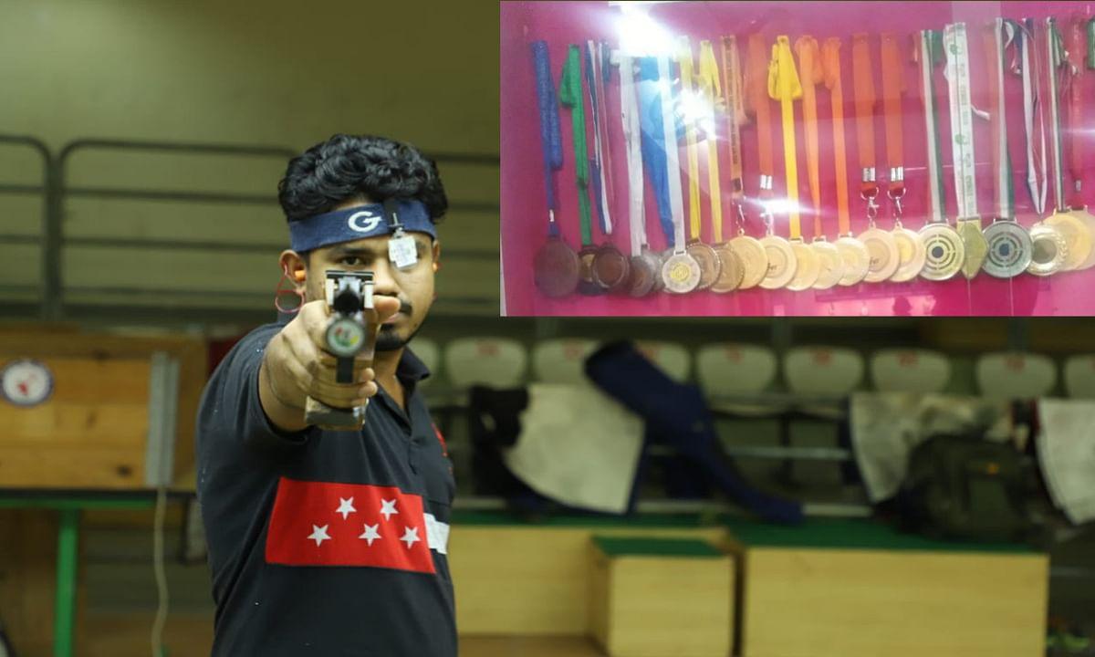 10 से अधिक गोल्ड जीतने वाले नेशनल शूटर संदीप का बिखर रहा सपना, ट्रायल के लिए बैंक से लिया लोन, अब कर्ज चुकाने के नहीं हैं पैसे