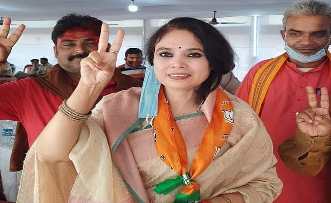 बिहार में नवनिर्वाचित BJP MLA रश्मि वर्मा से रंगदारी मांगने वाला युवक गिरफ्तार