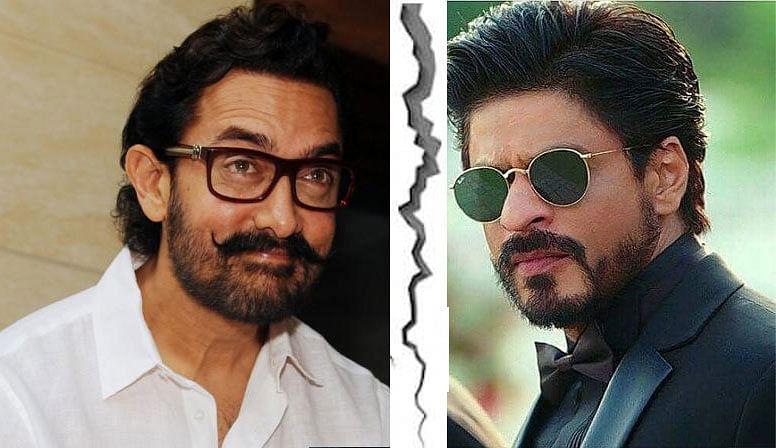 कुछ ऐसा था शाहरुख खान का रिएक्शन, जब आमिर खान ने कहा था वो तो मेरा पालतू ...
