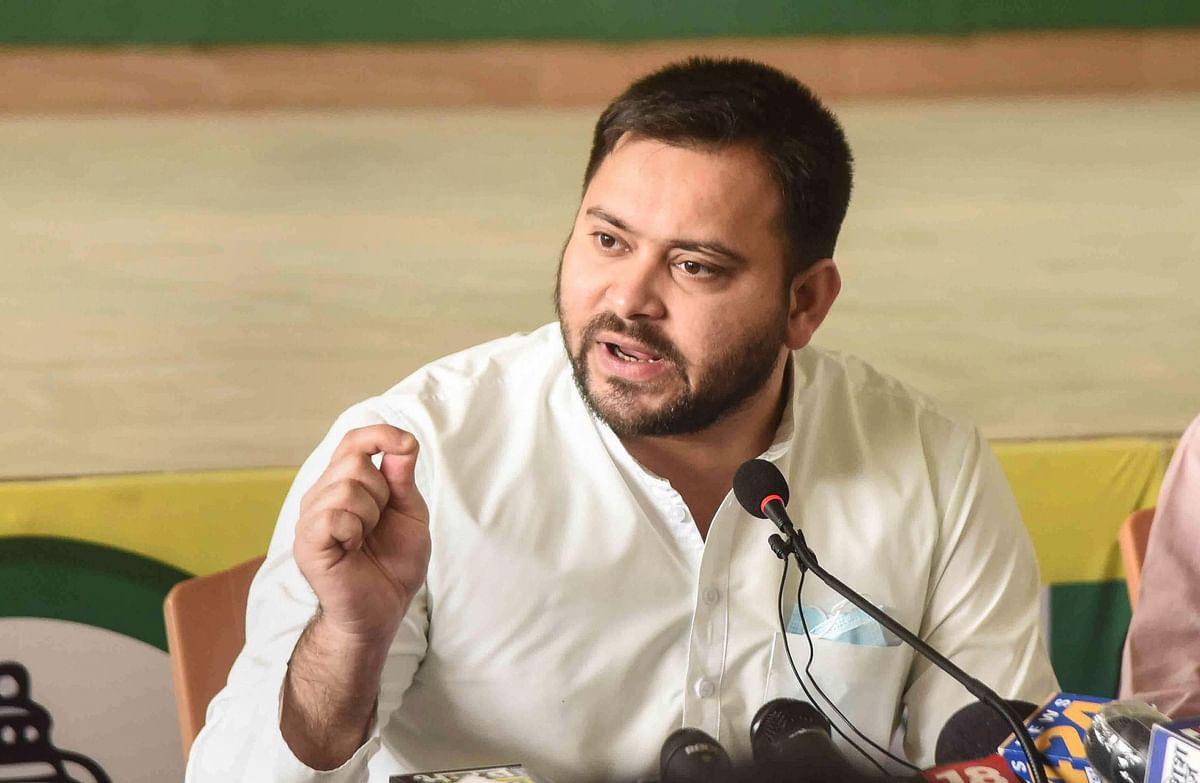तेजस्वी यादव के ट्वीट पर JDU की सलाह, मुख्य प्रवक्ता संजय सिंह बोले- 'चार्जशीटेड नेता अपराध पर लेक्चर ना दें'