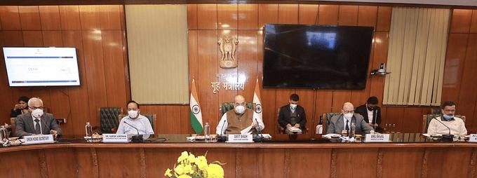 दिल्ली में कोरोना के बढ़ते मामलों पर लगाम के लिए आरटी-पीसीआर टेस्ट दोगुने किये जायेंगे, रोज होंगे एक लाख टेस्ट : अमित शाह