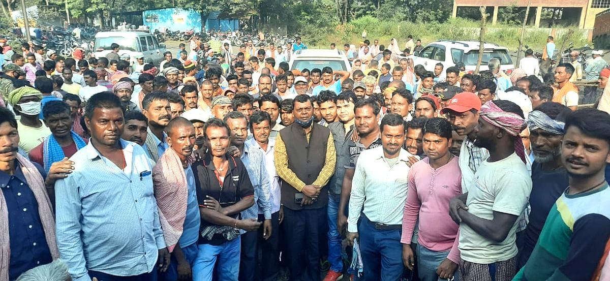 रजरप्पा कोल वाशरी के 700 मजदूरों की नौकरी बचाने के लिए सामने आये सांसद चंद्रप्रकाश चौधरी