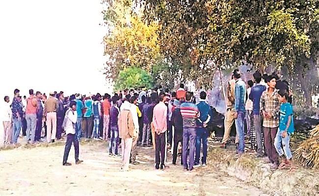 प्रयागराज में पुआल संग किसान को जिंदा जलाया, पोस्टमार्टम के बाद मामले की जांच में जुटी पुलिस