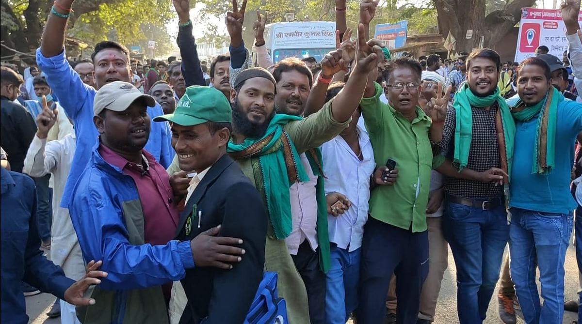 झामुमो कार्यकर्ताओं में उत्साह