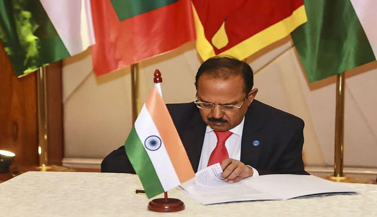 भारत की समुद्री सीमा को बांधकर 'चीन को चित' करने के लिए NSA डोभाल का प्लान, श्रीलंका समेत ये देश करेंगे सहयोग