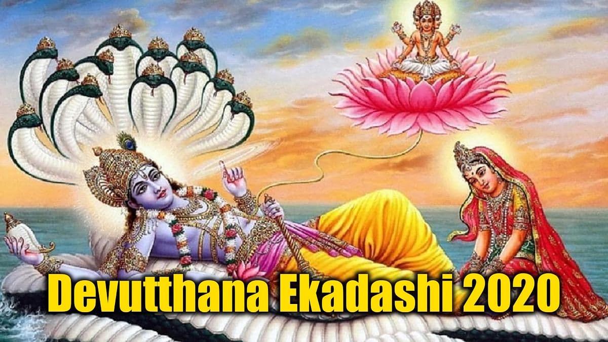 Tulasi Vivah 2020:  4 महीने की नींद पूरा कर जग गये है भगवान विष्णु, जनिए आज शाम को किस मुहूर्त में होगा तुलसी विवाह...