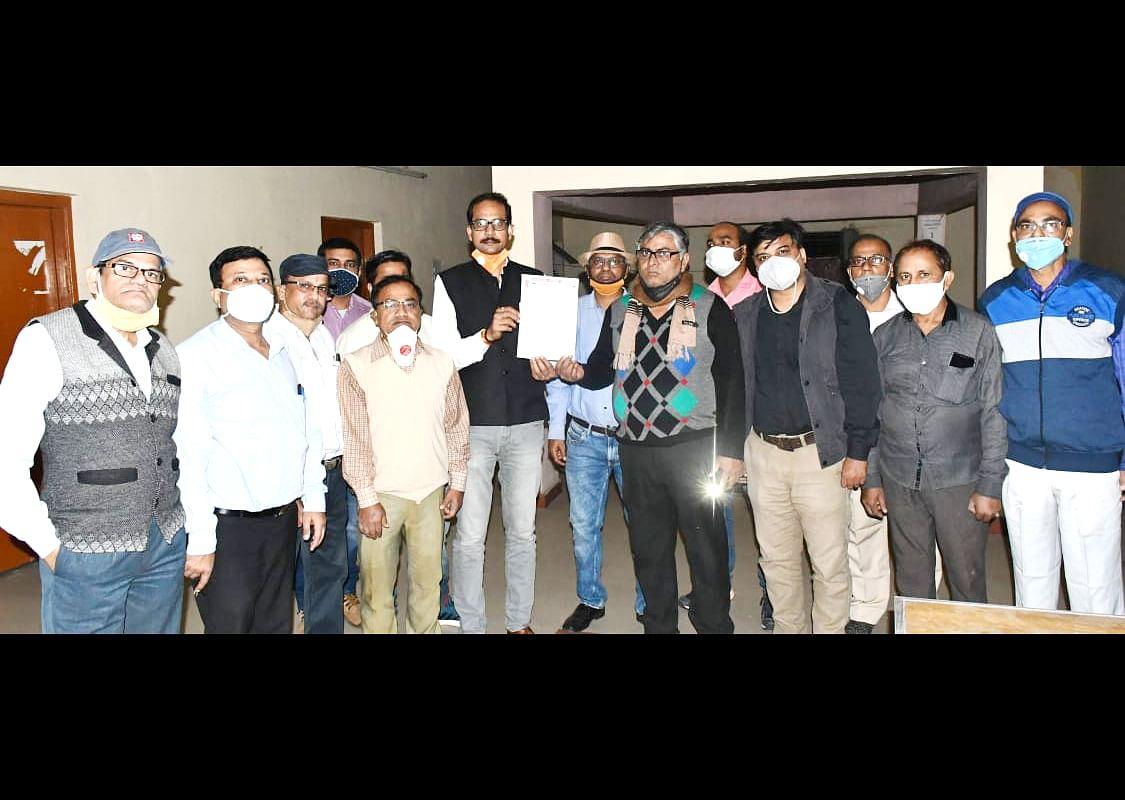 बीएसएल के अधिकारियों ने आंदोलन के लिए कमर कसी, दिवाली के दिन घर में नहीं जलायेंगे दीये