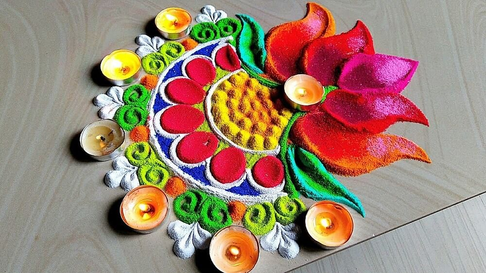 Rangoli Design, Image 1