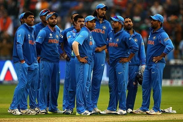2015 में टीम इंडिया