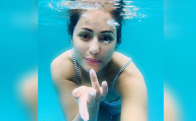 गजब की हॉट हैं हिना खान, एक्ट्रेस की 'अंडरवाटर' तसवीरें सोशल मीडिया पर वायरल