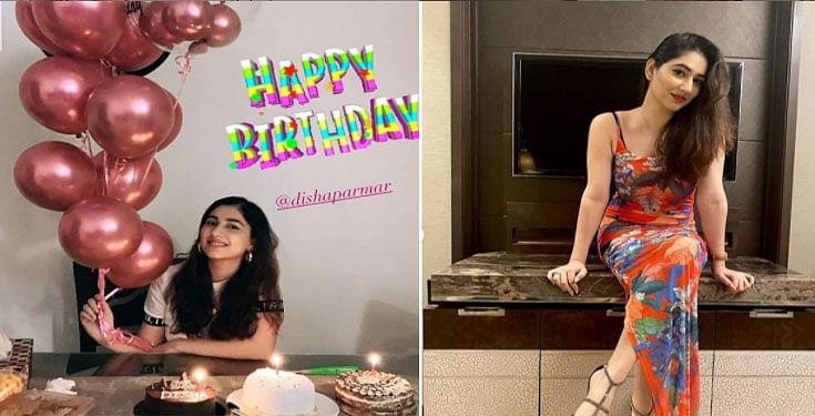 Bigg Boss 14 के कंटेस्टेंट राहुल वैद्य की गर्लफ्रेंड दिशा परमार ने कुछ इस तरह मनाया अपना जन्मदिन, Viral हो रही हैं Photos