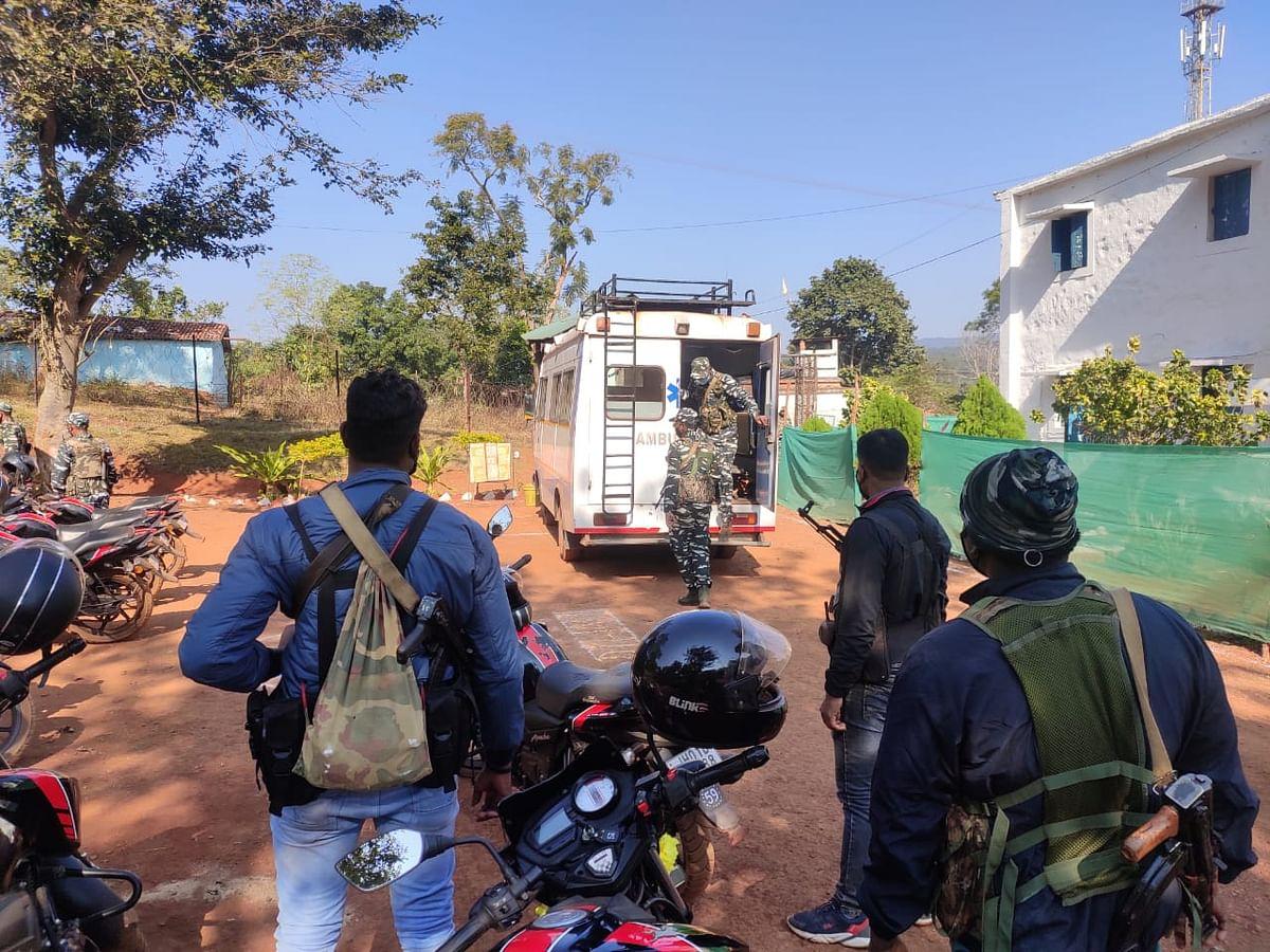 झारखंड के सारंडा में एएसआई ने खुद को मारी गोली, मौके पर ही मौत, जांच में जुटी पुलिस
