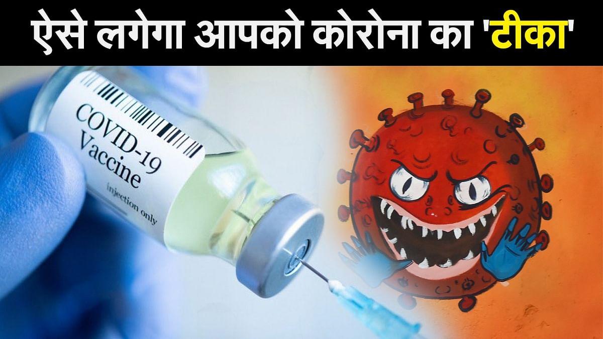 Corona Vaccine Update: ऐसे मिलेगा आपको कोरोना का 'टीका'