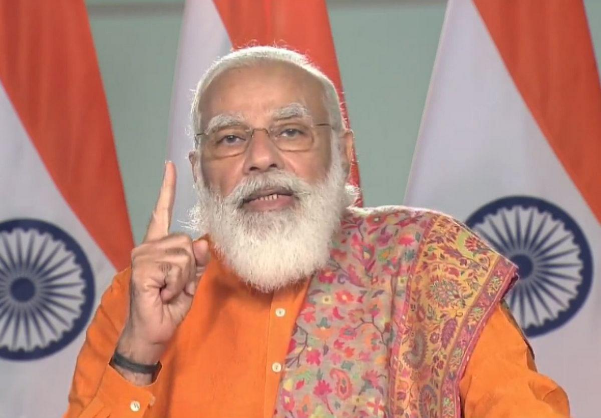 PM मोदी ने रो-पैक्स फेरी सेवा का किया उद्घाटन, कहा- सौराष्ट्र और दक्षिण गुजरात का वर्षों पुराना सपना हुआ पूरा