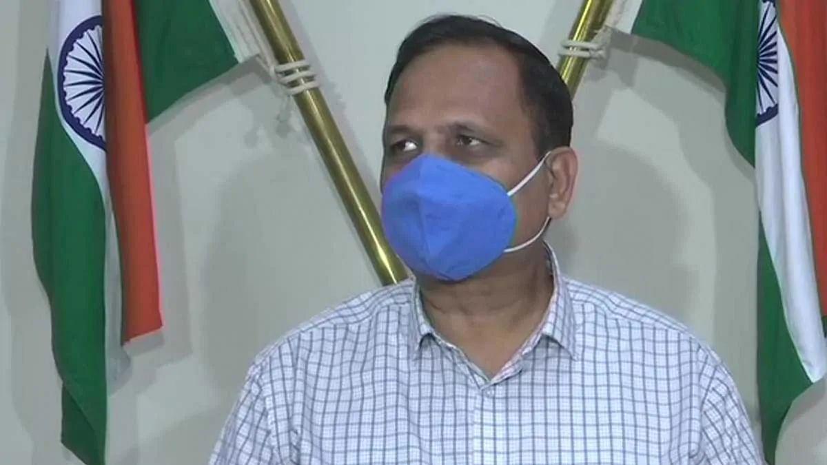 दिल्ली के स्वास्थ्य मंत्री सत्येंद्र जैन के पिता का कोरोना से निधन, केजरीवाल ने दी जानकारी